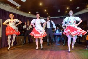 Folk Dance Show on Budapest Cruise