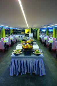 Buffet Dinner on Secundus Ship