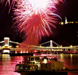Fireworks Cruise in Budapest
