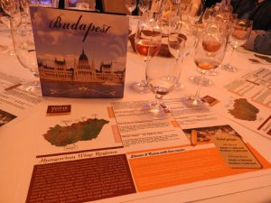Wine Cruise Info Sheet of Hungarian Wine Regions - Budapest Europa Boat