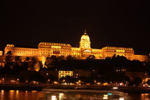 Buda castle Night Budapest River Attractions by Arian Zwegers