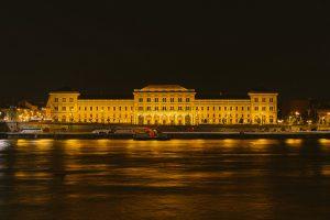 Corvinus University of Economics Night Budapest River Attractions Wei Te Wong