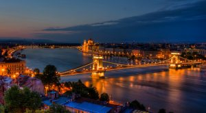 Danube Night Budapest River Attractions by DomiKetu