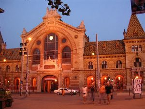 Geat Market Hall Night Budapest River Attractions Laura Marie