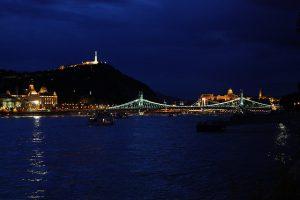 Gellert Hill Night Budapest River Attractions iheartpandas