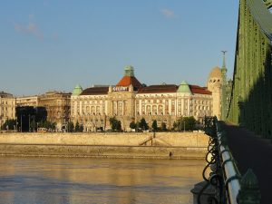 Gellert Hotel _ Spa Liberty Bridge Day Budapest River Attractions Patrick Muller