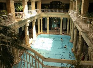 Gellert Spa Thermal Bath Indoor Pools Sandra Kohen