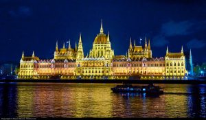 Parliament Night Budapest River Attractions by Moyan Brenn