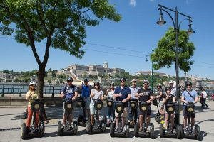 Budapest Segway Tour City Center Danube Promenade with Buda Castle