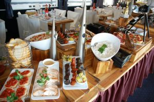 Fortuna Ship Buffet Table
