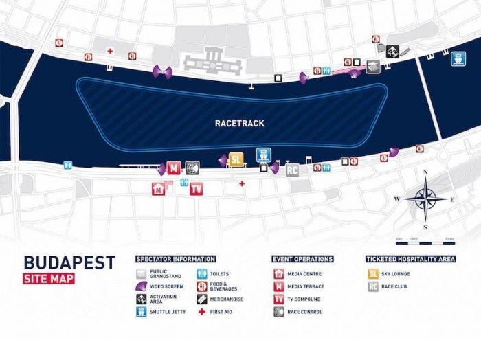 Red Bull Air Race 2016 Map