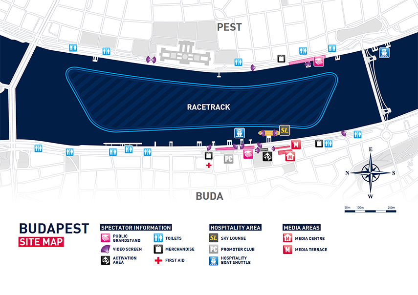 Red Bull Air Race 2017 Map Budapest River Cruise