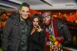Halloween Boat Party on River Danube
