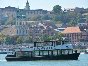 Secundus ship on river Danube