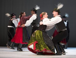 Folk Show by Hungarian State Folk Ensemble