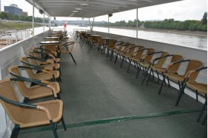 Mirage Boat Private Ship Rental Budapest River Cruise - Open Deck