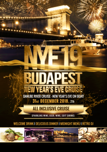 NYE Dinner Cruise & Retro Party