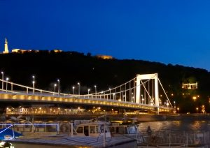 Budapest Elizabeth Bridge Night Cruise BRC