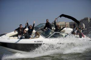 Budapest Crazy Cruise Speed Boat
