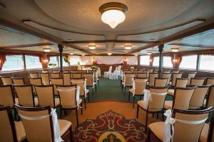 Szechenyi Boat Private Wedding Rental Seat Arrangement Budapest Cruise on River