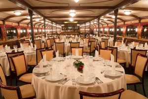 Count Szechenyi Ship Interior Private Event Cruises Budapest
