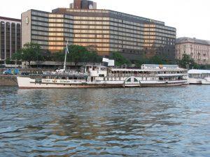 Kossuth Ship Budapest Hungary