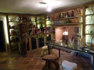Cellar in the Chocolate Museum - Palinka Tasting