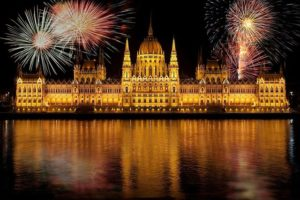 Budapest Danube River Fireworks Show and Cruise