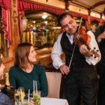 Menu of the Hungarian Dinner Cruise
