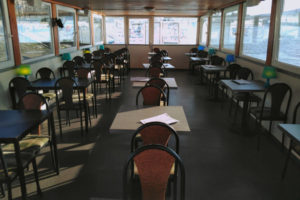 Fanny Private Boat Rental Budapest Interior