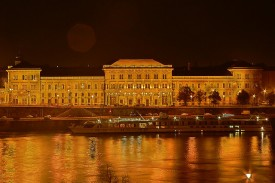 Budapest Night Cruise University of Economics