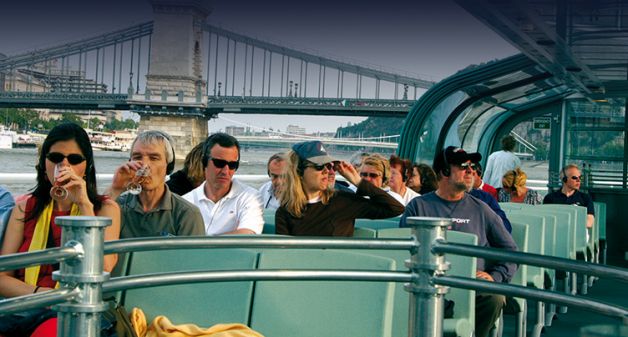 1.15pm Sightseeing Guided Cruise in Budapest