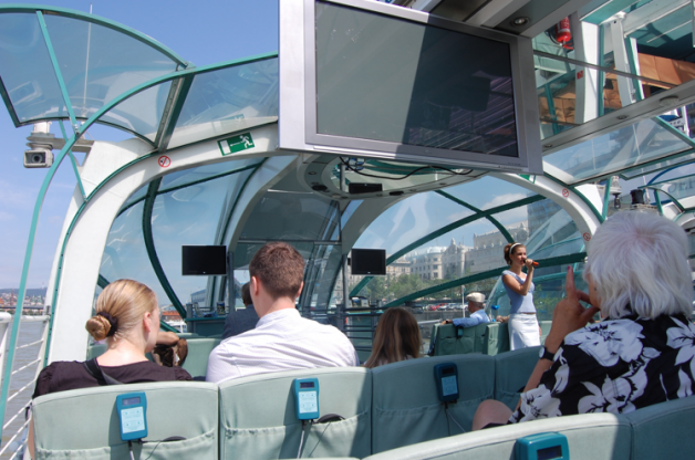 3.30 pm Afternoon Sightseeing Guided Cruise in Budapest