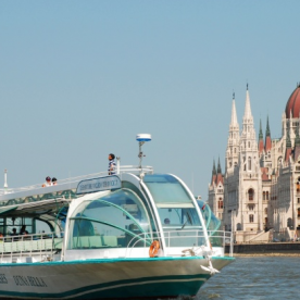 2.45pm Sightseeing Cruise in Budapest