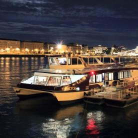 Taltos Private Boat Rental Budapest
