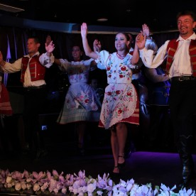 Folk Dance Show on Budapest Evening Cruise