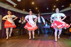 Folk Dance Show on Budapest Cruise