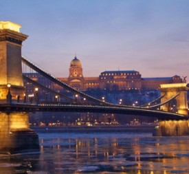 Christmas Cruise in Budapest at Winter on River Danube