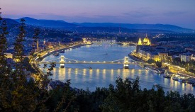 Danube Night Budapest River Attractions
