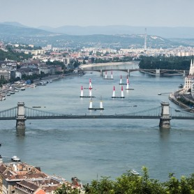 Red Bull Air Race over the River Danube
