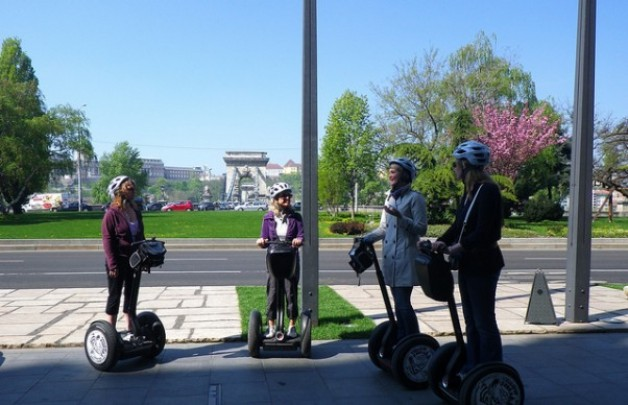 Budapest City Center Segway Tour with River Cruise