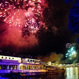 Fireworks Dinner Cruise with Gypsy Music