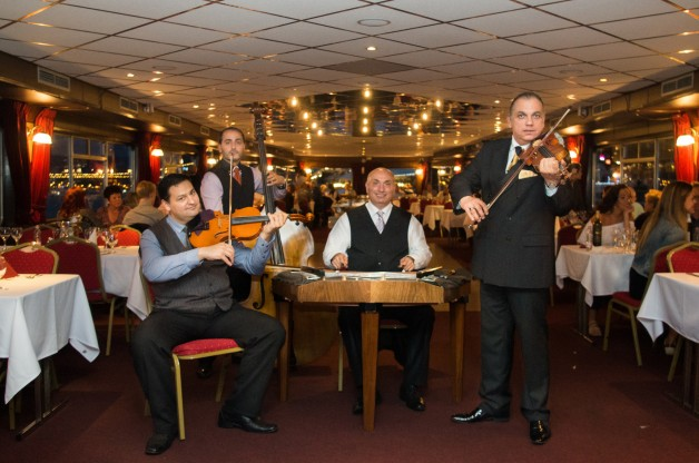 Christmas Eve Budapest Dinner Cruise with Gypsy Music