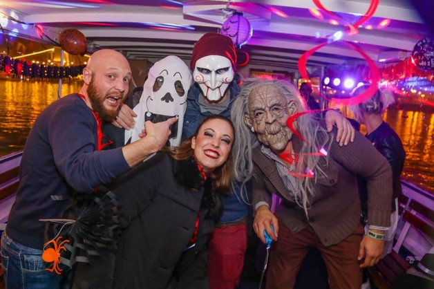 Halloween Boat Party in Budapest