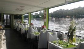 Secundus ship on river Danube