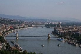 Danube Budapest - photo by Chris Brown