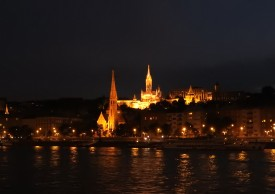 Budapest Fisherman's Bastion Night BRC