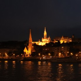 Budapest Fisherman's Bastion Night BRC