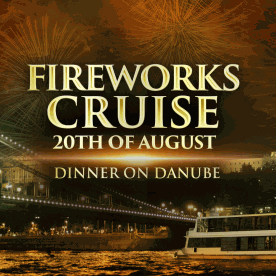 Fireworks Dinner Cruise & Retro Music in Budapest