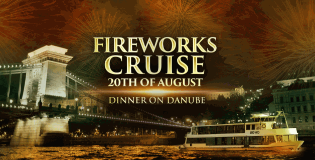 Fireworks Dinner Cruise & Retro Music in Budapest 2019